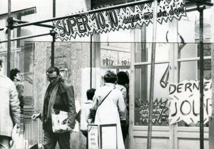 Le premier Super marché d'art